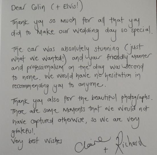 Choose A Wedding Car